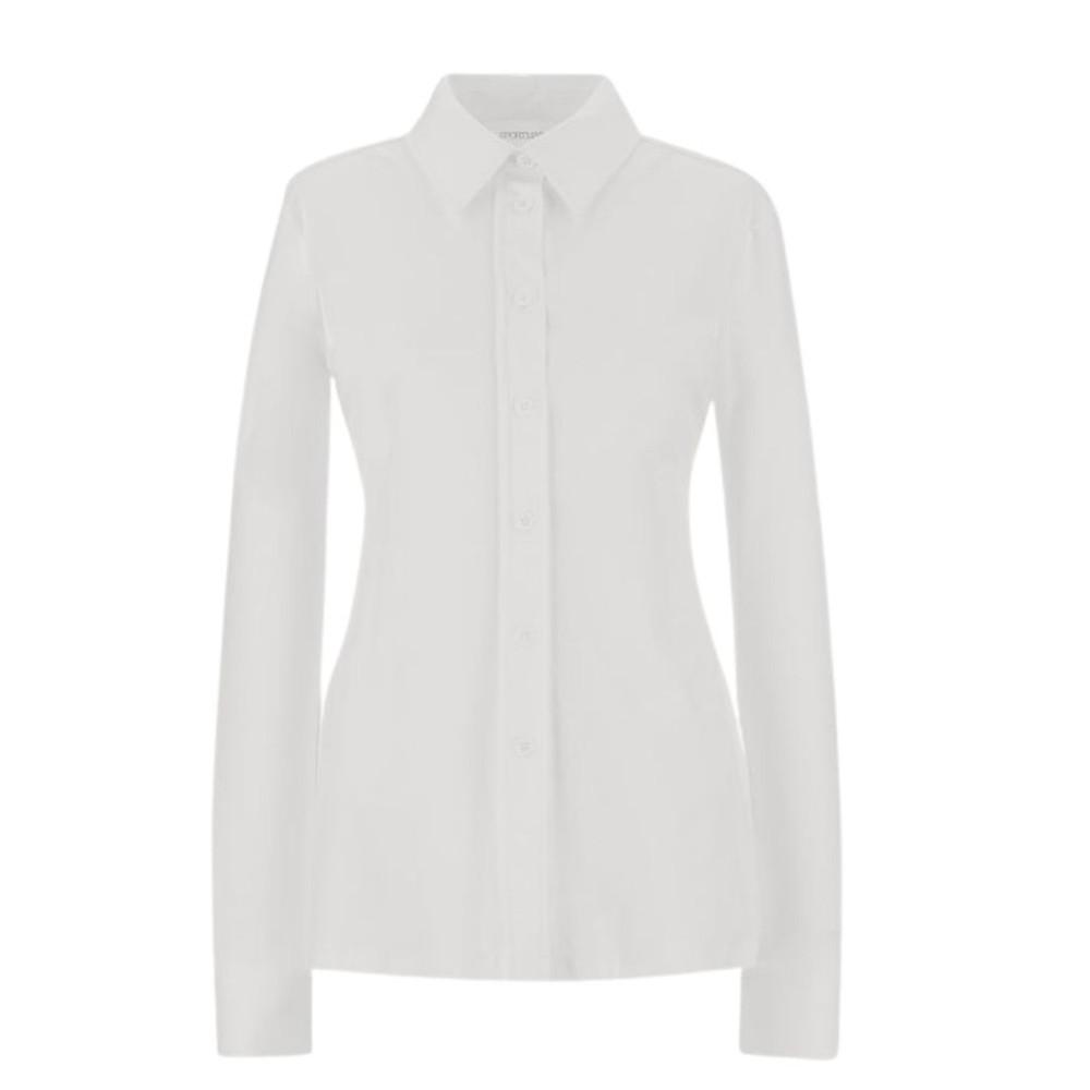 Sportmax Alibi Jersey Shirt White