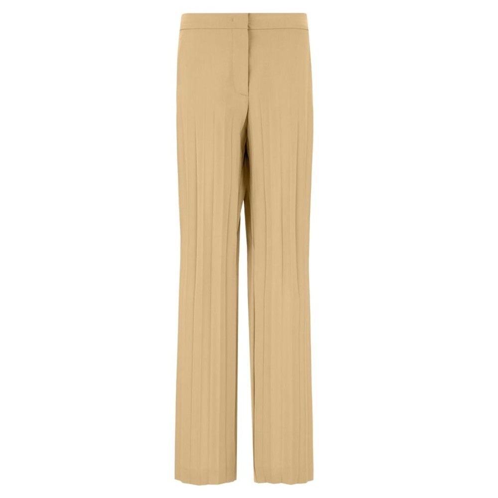 Sportmax Clara Pleated Trousers Beige