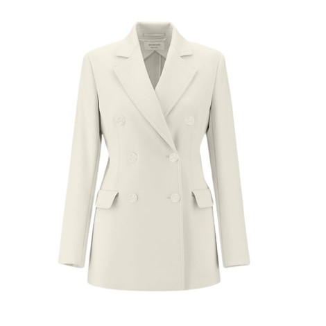 Sportmax Scena Double-Breasted Blazer