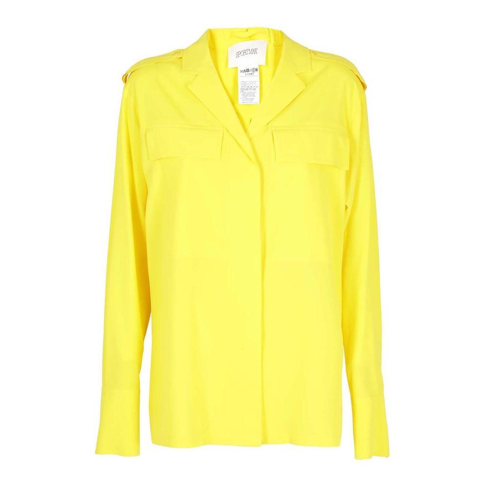 Sportmax Kadiak Shirt Yellow