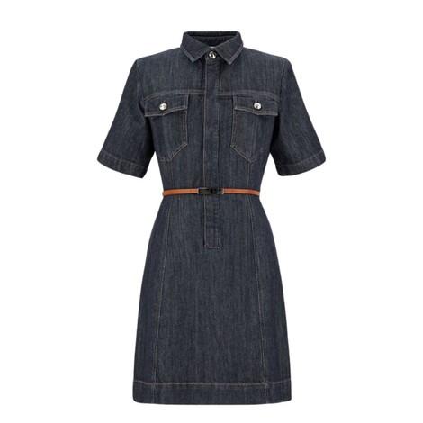 Sportmax Teglia Short Sleeve Denim Dress