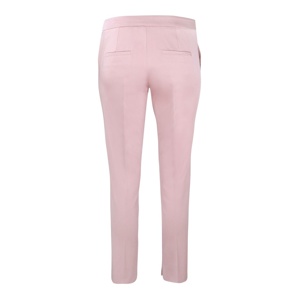 Marella Pink Grossgrain Trouser Pink