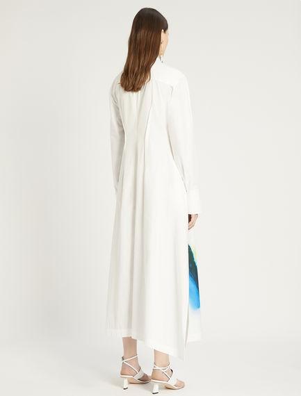 Sportmax Parole Cotton Shirt Dress White