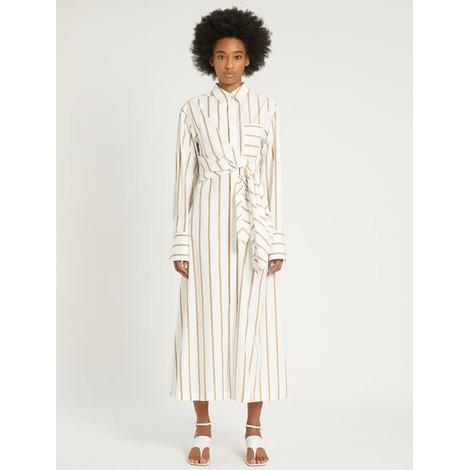 Sportmax Aretusa Striped Shirt Dress