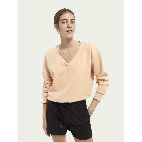 Scotch & Soda V Neck Sweat Top