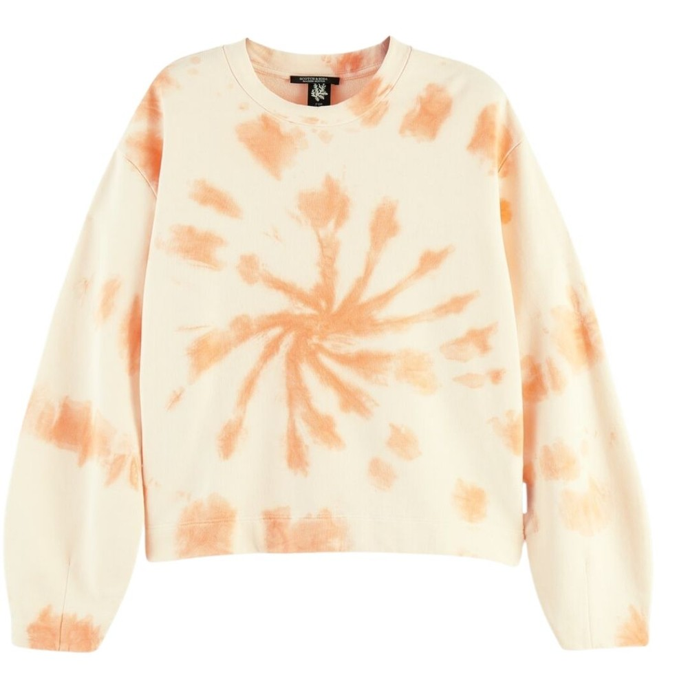 Scotch & Soda Tie Dye Sweatshirt Peach
