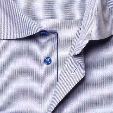 Eton Textured Slim Fit Twill Shirt