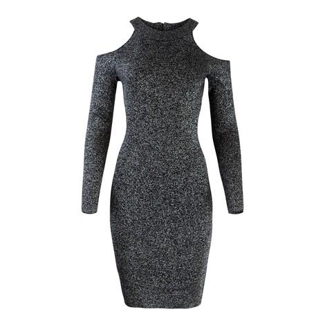 Michael Kors Glitter Cold Shoulder Dress
