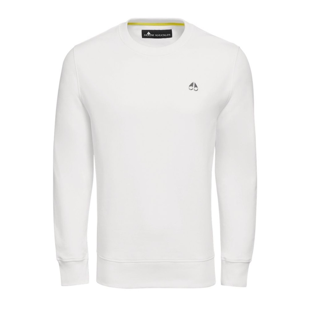 Moose Knuckles Greyfield Sweatshirt White