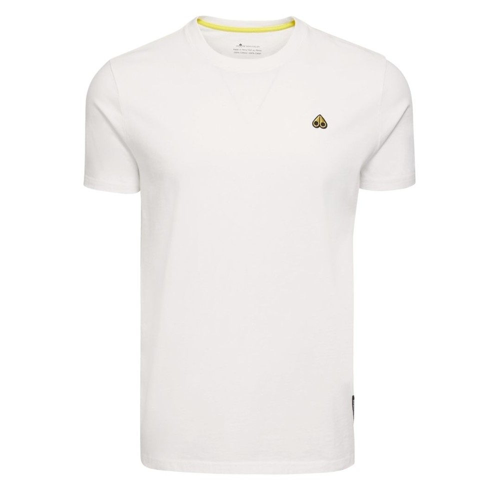 Moose Knuckles Classic Logo T-Shirt White