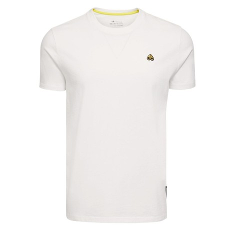 Moose Knuckles Classic Logo T-Shirt in White