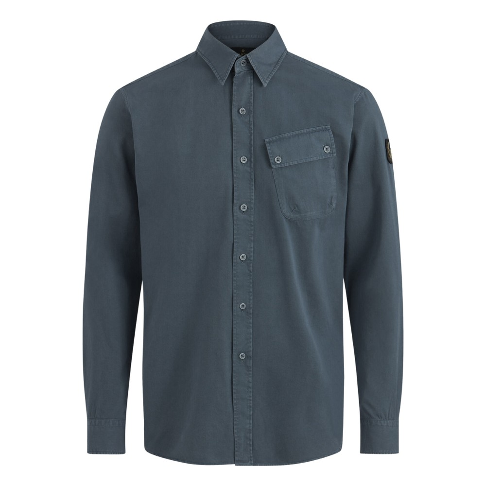 Belstaff Pitch Shirt Racing Blue