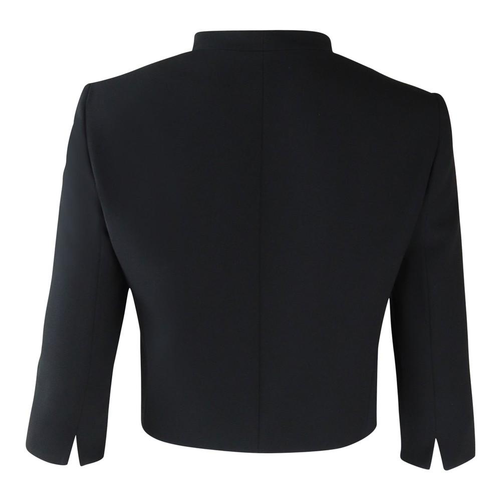 Maxmara Black Short 3/4 Sleeve Jacket Black