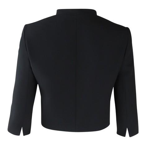 Maxmara Black Short 3/4 Sleeve Jacket