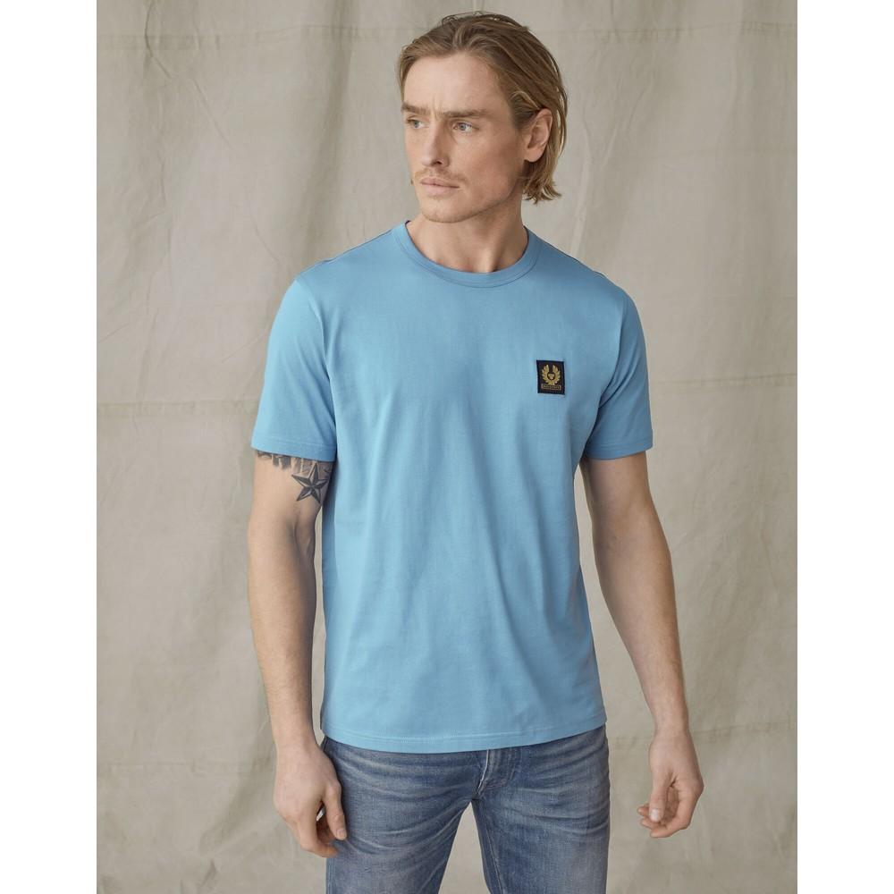 Belstaff Logo T-Shirt Airforce Blue