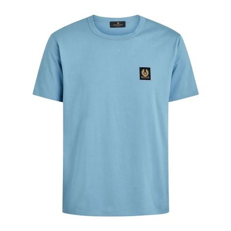 Belstaff Logo T-Shirt in Airforce Blue