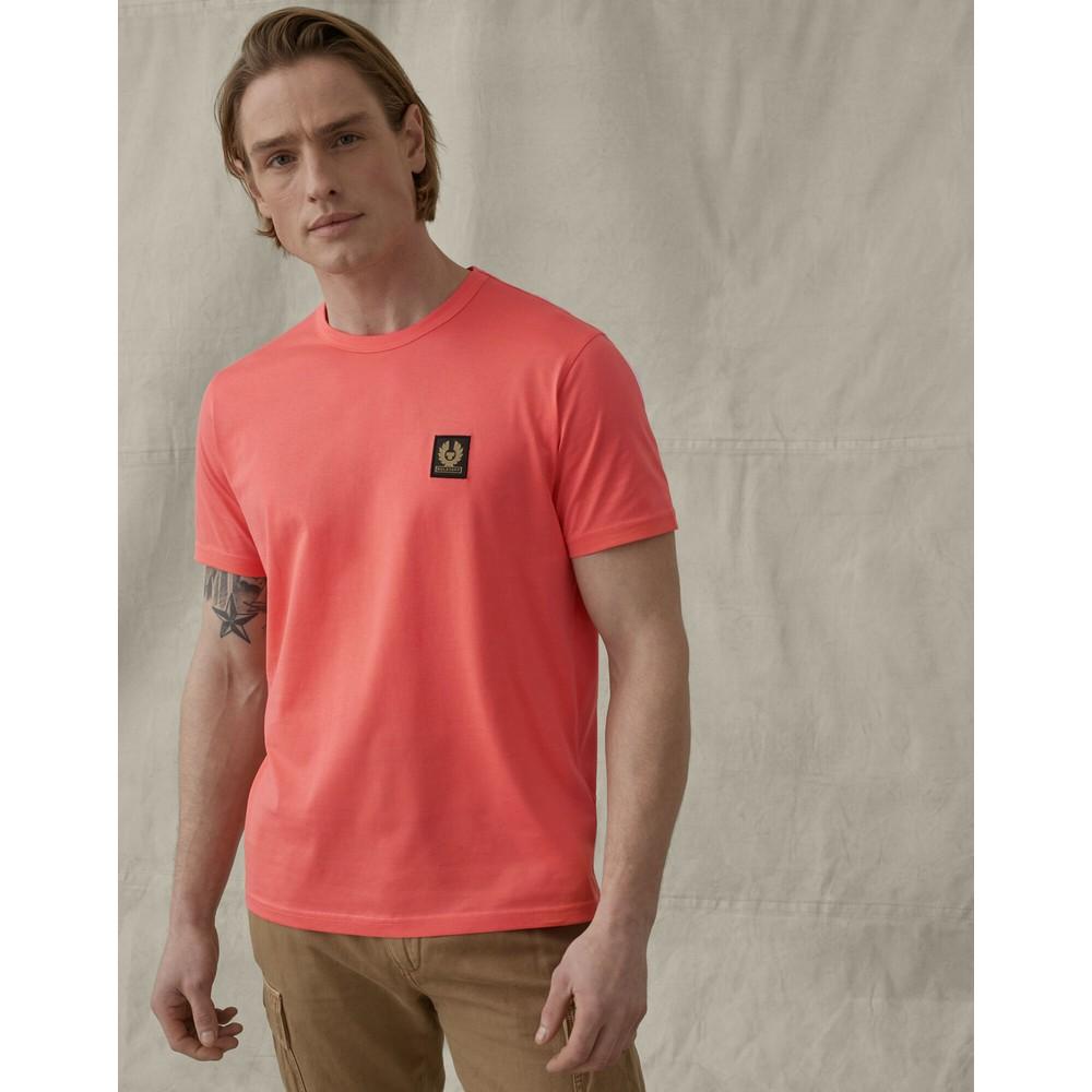 Belstaff Logo T-Shirt Coral