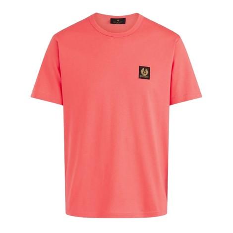 Belstaff Logo T-Shirt in Coral