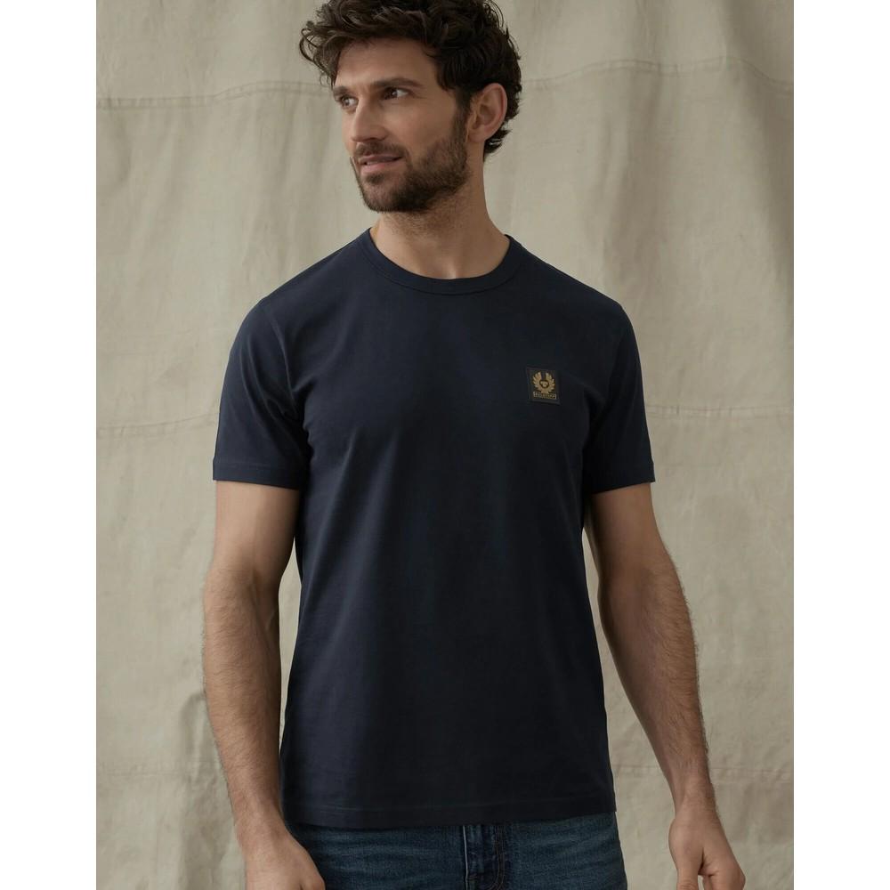 Belstaff Logo T-Shirt Deep Blue