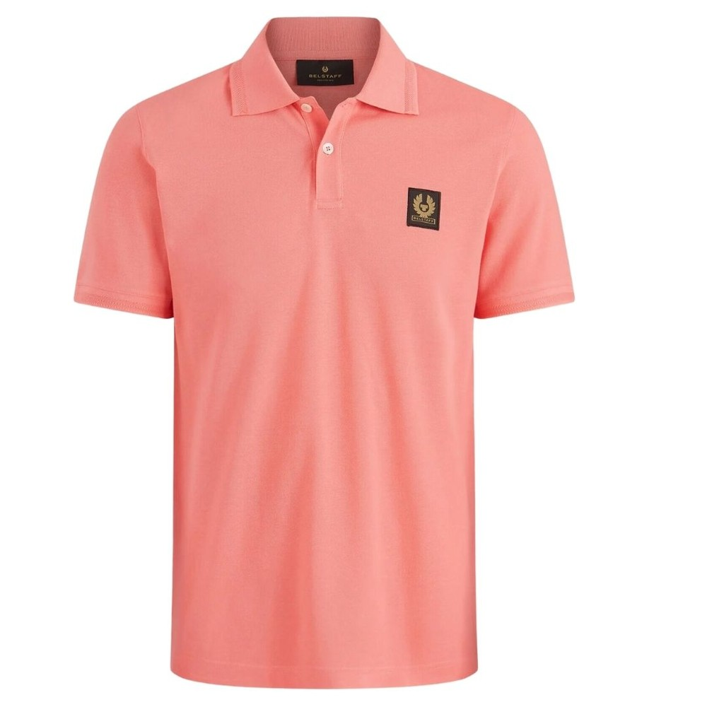 Belstaff Short Sleeved Polo Coral