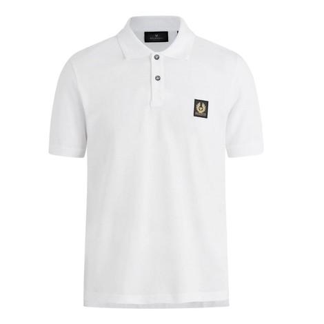 Belstaff Belstaff Short Sleeved Polo in White