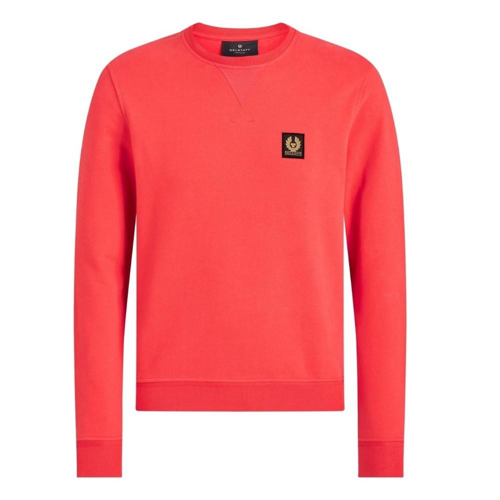 Belstaff Logo Sweatshirt Red