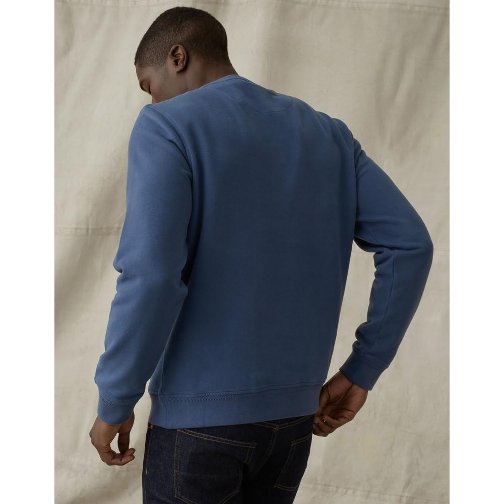 Belstaff Logo Sweatshirt Racing Blue