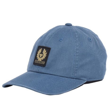 Belstaff Phoenix Logo Cap in Airforce Blue