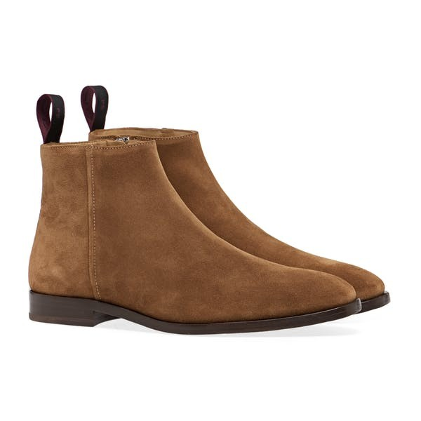 PS Paul Smith Alan Suede Boots Tan