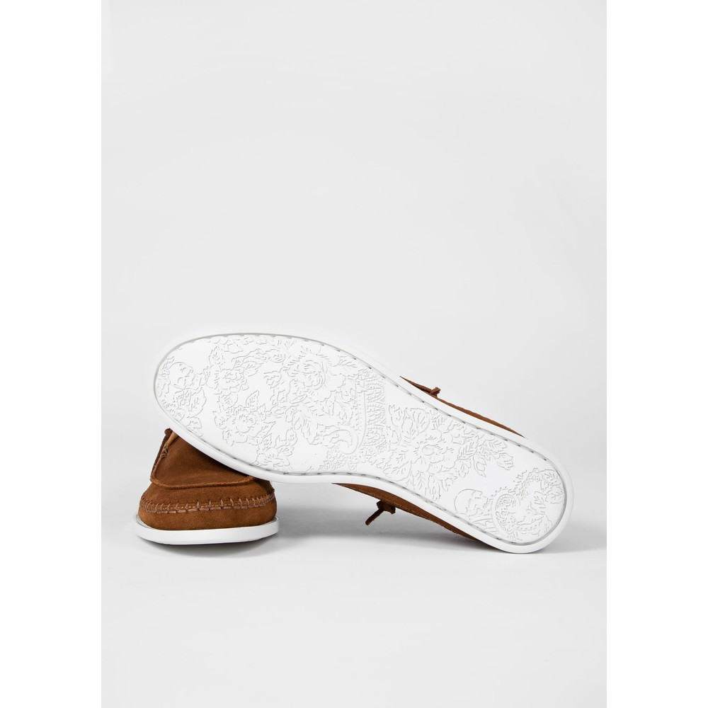 PS Paul Smith Hobbs Suede Shoe Tan