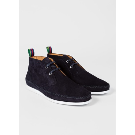 PS Paul Smith Neon Suede Boots