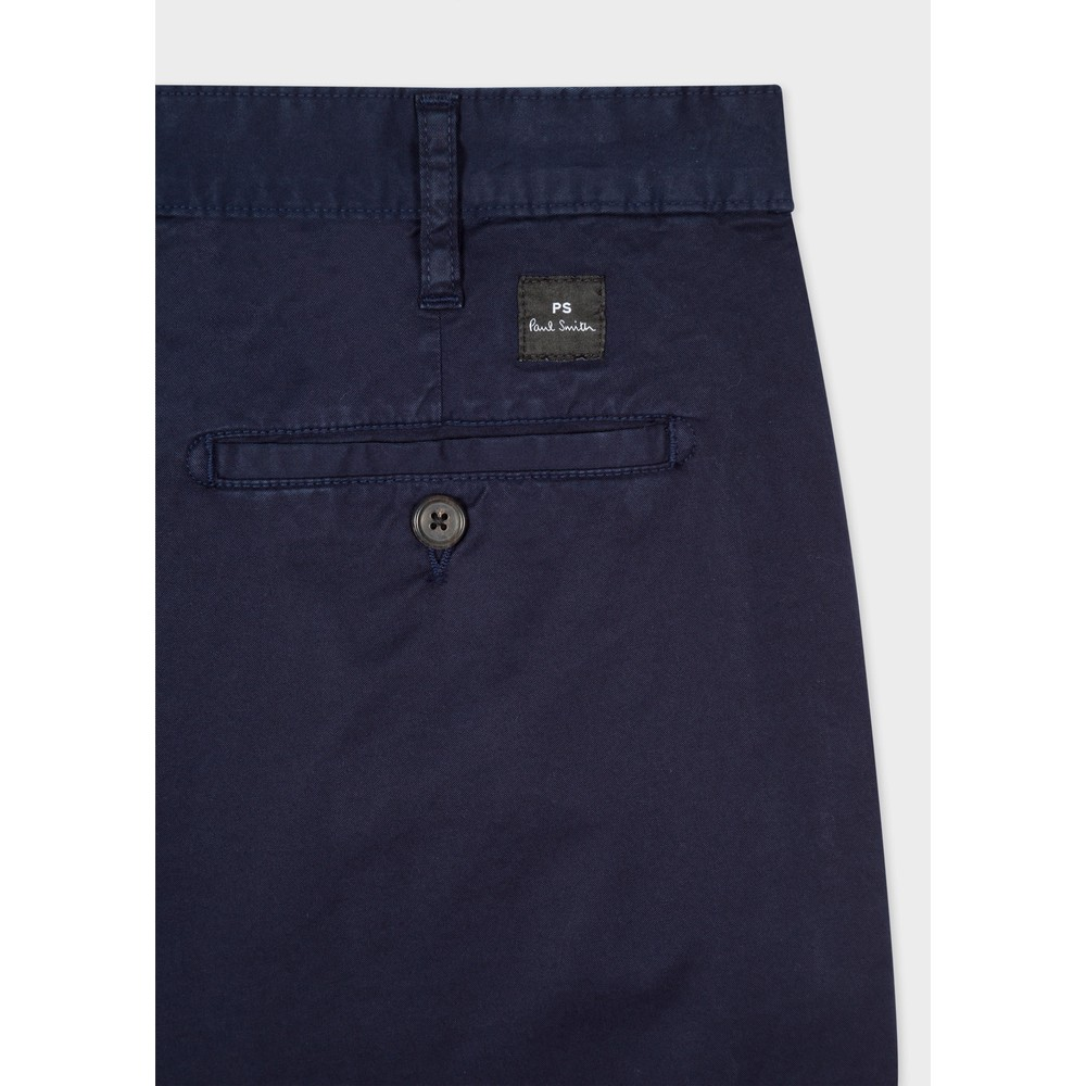 PS Paul Smith Stretch Pima-Cotton Chino Shorts Blue