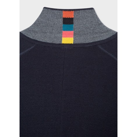 Paul Smith Merino Wool Cardigan Blazer