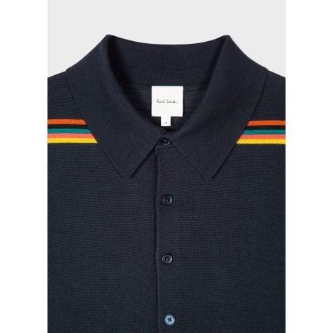 Paul Smith 'Artist Stripe' Polo Shirt