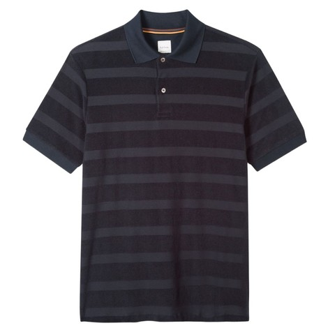 Paul Smith Cotton-Towelling Stripe Polo Shirt