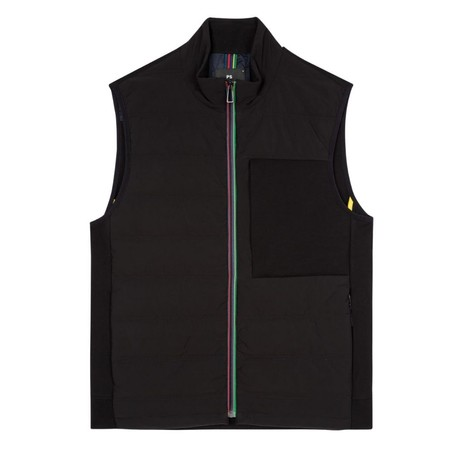 PS Paul Smith Mixed Media Gilet