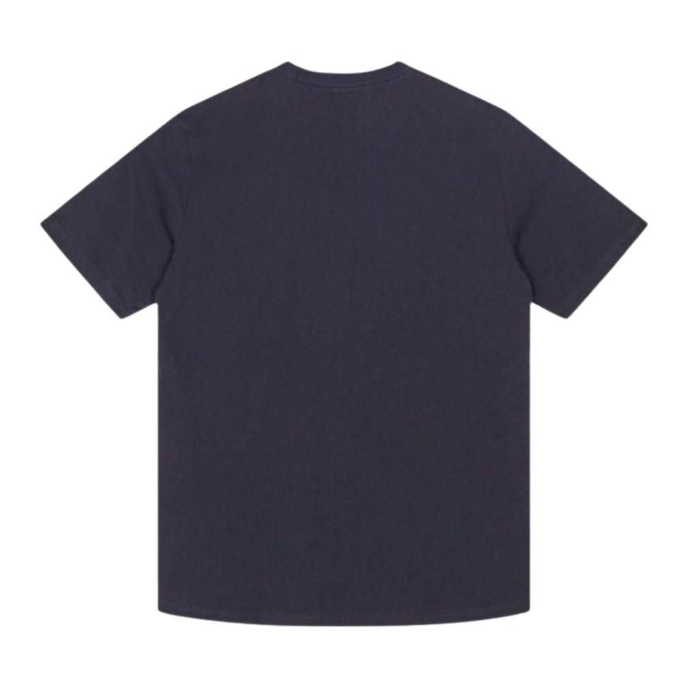 PS Paul Smith Blue Skull Organic Cotton T-Shirt Navy