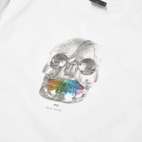 PS Paul Smith Organic Cotton Skull T-Shirt
