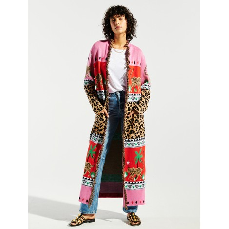 Hayley Menzies Leopardess Cotton Duster