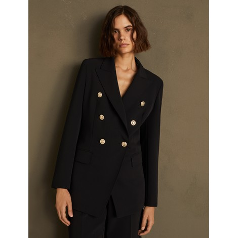 Marella Rotolo Double-Breasted Blazer