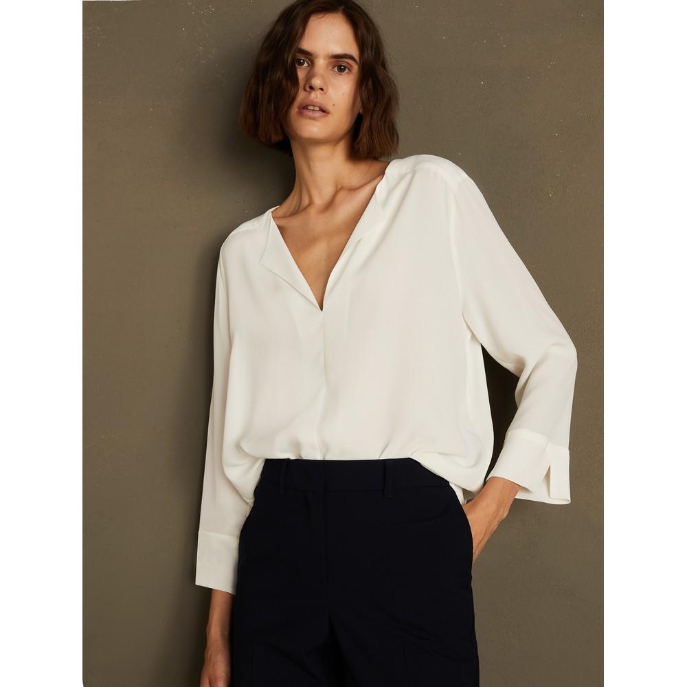 Marella Ninetta Silk Top Off-White