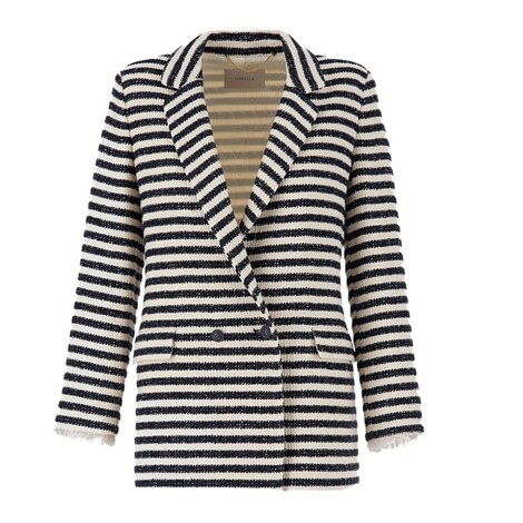 Marella Vicenza Stripe Tweed Jacket