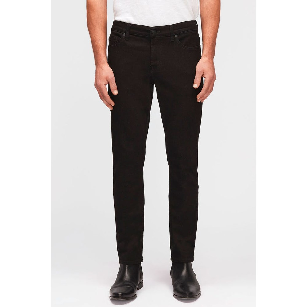 7 For All Mankind Ronnie Luxe Performance Rinse Jeans Black