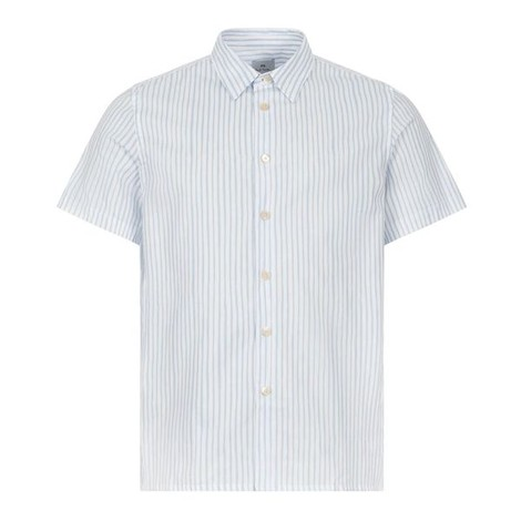 PS Paul Smith Short Sleeve Striped Casual Fit Shirt
