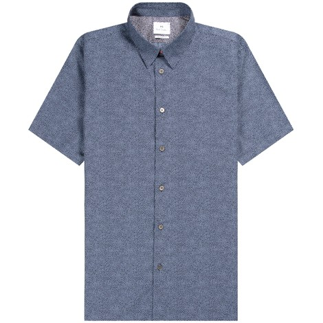 PS Paul Smith Short Sleeve Polka Dot Tailored Fit Shirt