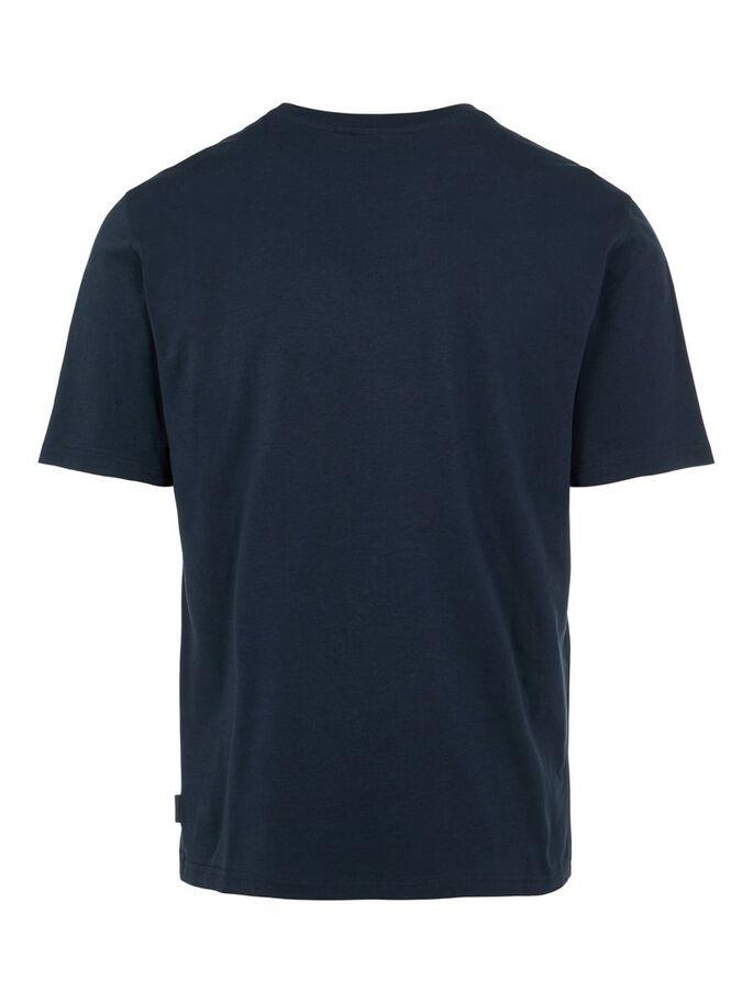 J.Lindeberg Dale Logo Patch T-Shirt Navy