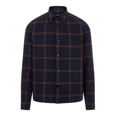 J.Lindeberg Structured Check Overshirt