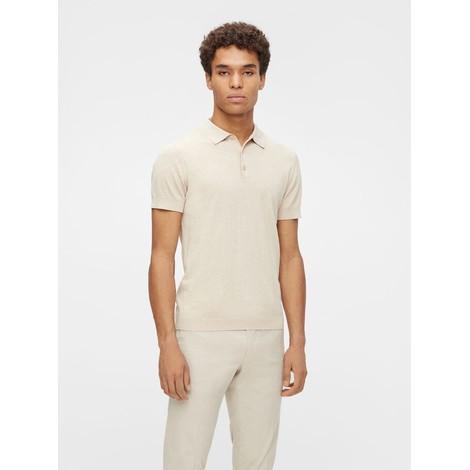 J Lindeberg Ridge Cotton Silk Polo Shirt