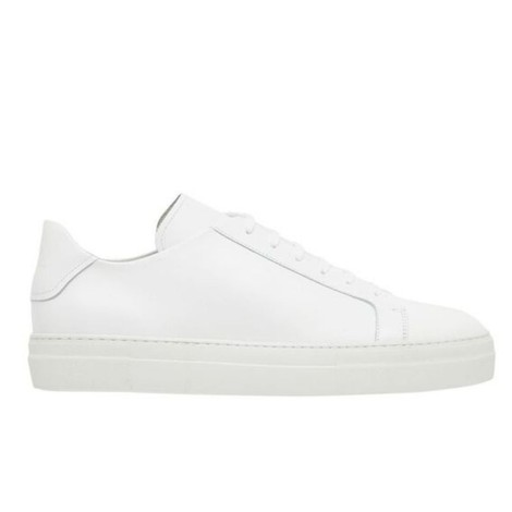J.Lindeberg Signature Leather Sneaker in White