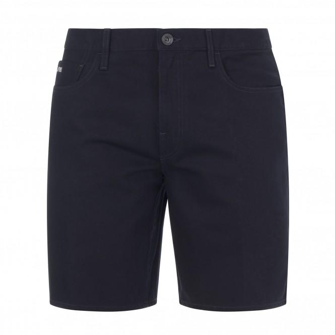Emporio Armani Denim Bermuda Shorts Navy
